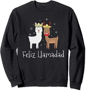 Feliz Llamadad Navidad Christmas Llama Gift Sweatshirt