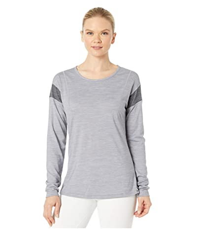 Smartwool Merino Sport 150 Long Sleeve (Light Gray Heather) Women