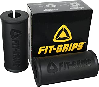 Core Prodigy Fit Grips 2.0 Thick Bar Weight Lifting Big Grips