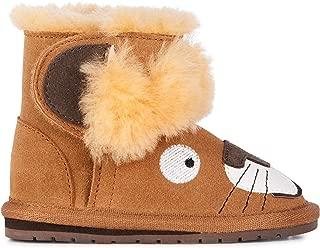 Babies Leo Lion Walker Deluxe Wool Boots