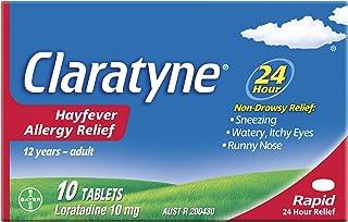 Claratyne Hayfever Allergy Relief Antihistamine - 10 Tablets