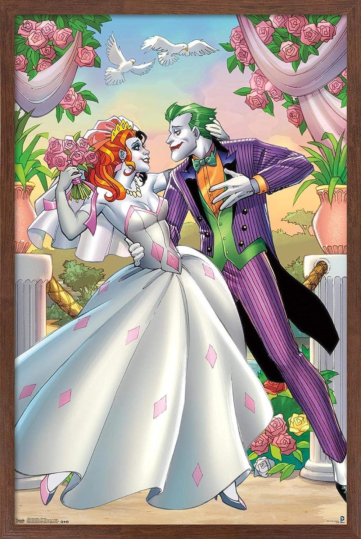 Excellence Trends International DC Comics Popular brand - Harley Pos Quinn Wall Romance