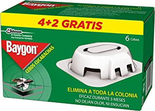 Baygon Trampa Cebo para Cucarachas y Hormigas - 6 Unidades