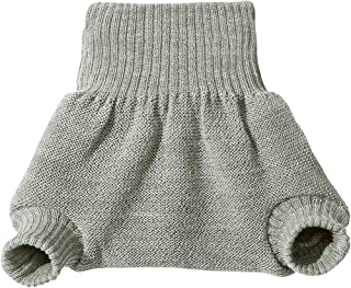 Disana 100% Organic Wool Diapers Cover/Soaker/Over Pants Made in Germany (74-80 (6-12 Months), Grey)