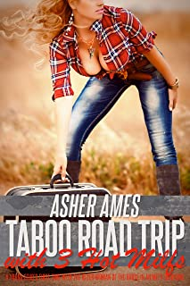 Taboo Road Trip with 3 Hot Milfs: A Young Stud's First Time with the Older Woman of the House in an MFFF Foursome