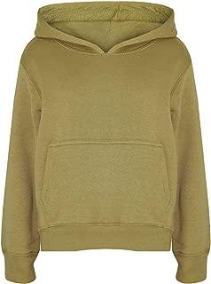 Uneek UC503 Childrens Hooded Sweatshirt Casual Kids Hoodie Boys Girls Jumper