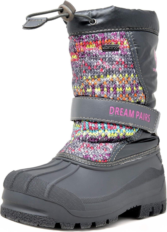 DREAM PAIRS Seasonal Wrap Introduction Cheap SALE Start Boys Girls Mid Waterproof Winter Boots Snow Calf