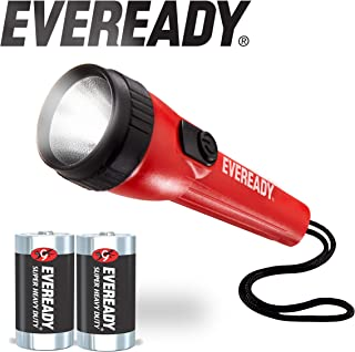 EVEREADY LED Flashlight Multi-Pack, Bright Flash Light, Durable and Easy-to-Use, Perfect Flashlights for Camping Accessories, Emergency, Survival Kits, Safe Flashlights for Kids, Batteries Included