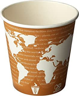 Eco-Products ECOBHC10WAPK Hot Drinks Cups, Renewable Resources (Pack of 50)