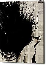 "Epic Graffiti The New Minstrel by Louie JOVE Gisele Canvas Wall Art, 26"" x 40"", Black"