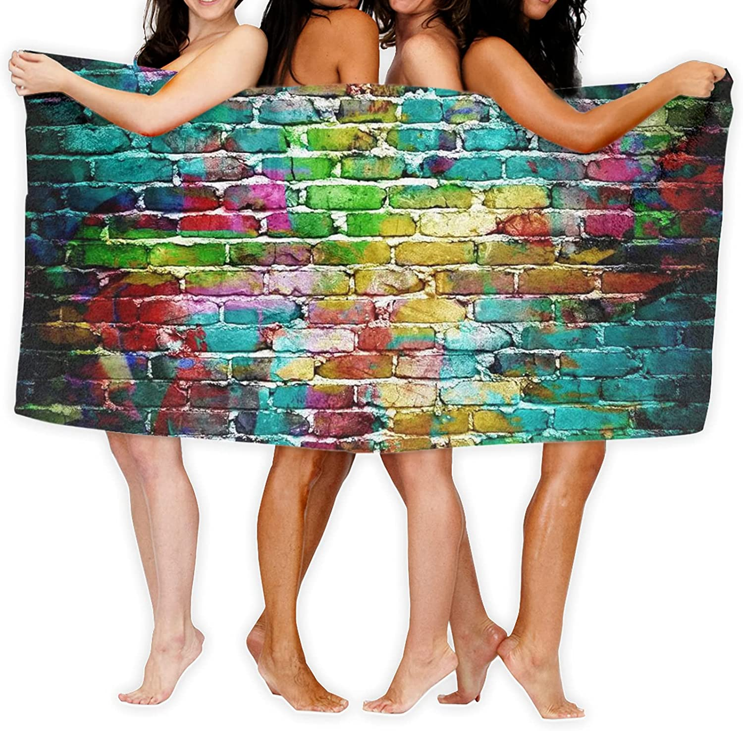 Printed Bath In Sale price a popularity Towels Soft Absorbent Fluffy Bathroo Beach