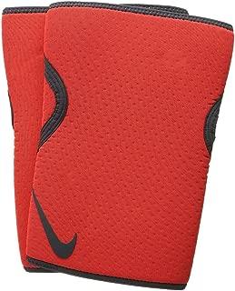Nike Intensity 5MM Support Training Knee Sleeves - Pair (Total Crimson/Anthracite, Medium)