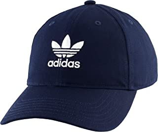 adidas Originals Men's Relaxed Strapback Cap, Collegiate Navy, ONE SIZE