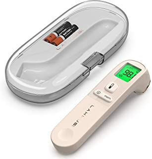 Lakmus Pro Medical Forehead Thermometer - Digital Baby Thermometer for Fever - Digital Temporal Thermometer - Forehead Thermometer for Kids and Adults - Portable Thermometer with Case
