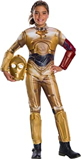 Rubie's Star Wars VII: The Force Awakens Deluxe C-3PO Deluxe Girl's Costume, Large