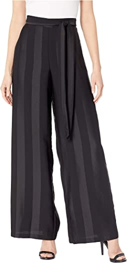 Shadow Stripe Belted Pants