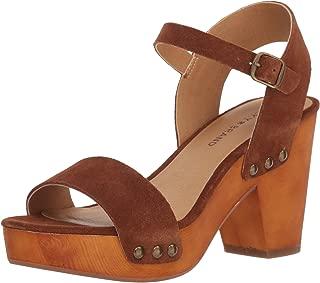 Lucky Brand Women's Trisa Heeled Sandal, Cedar, 10 M US