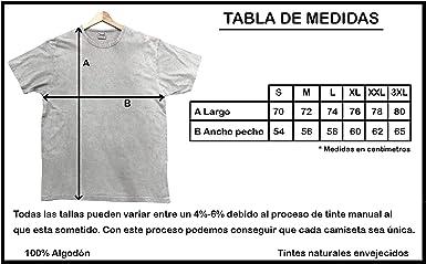 Camiseta algodón Lavado Envejecido Lagartija Formentera ...