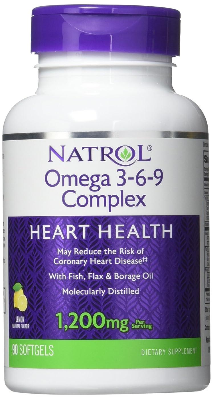 バケツ法廷ようこそNatrol - Omega 3-6-9 Complex, 90 softgels by Natrol