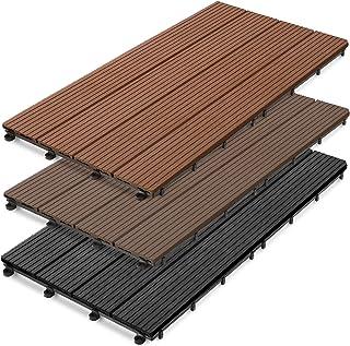 Amazon Co Uk Plastic Decking Tiles