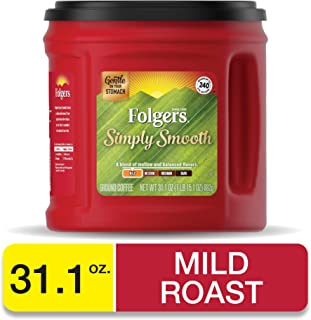 Folgers Simply Smooth Ground Coffee, Medium Roast