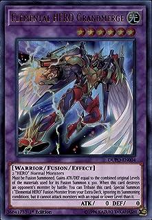 Yu-Gi-Oh! - Elemental Hero Grandmerge - DUPO-EN004 - Ultra Rare - 1st Edition - Duel Power