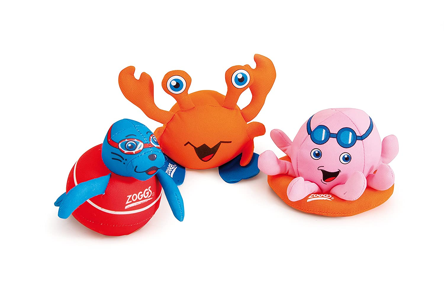 Zoggs Kid's Zoggy Soakers Sponge Toys - Multicolour by Zoggs