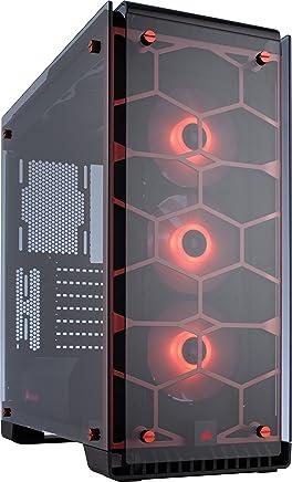Corsair Crystal 570X Case da Gaming, Mid-Tower ATX, Finestra Laterale Vetro Temperato e Ventole, RGB LED, Rosso - Trova i prezzi più bassi