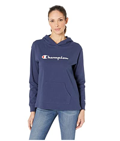Champion Heavyweight Jersey Pullover Hoodie (Imperial) Women