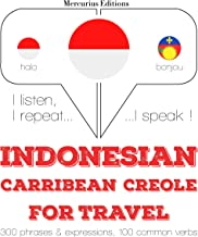 Indonesian – Carribean Creole. For travel: I listen, I repeat, I speak - Indonesian