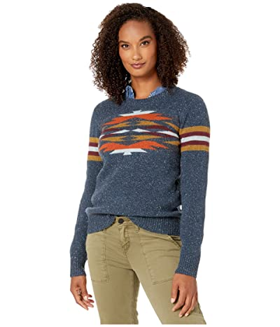 Pendleton Desert Gem Wool Sweater (Mood Indigo Multi) Women