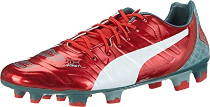 PUMA Evopower 1.2 Graphic FG Mens Firm Ground Soccer Cleats Football Shoes