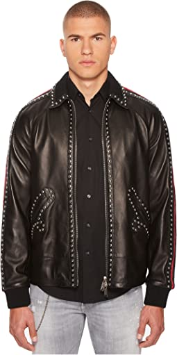 DSQUARED2 - 50s Leather Jacket
