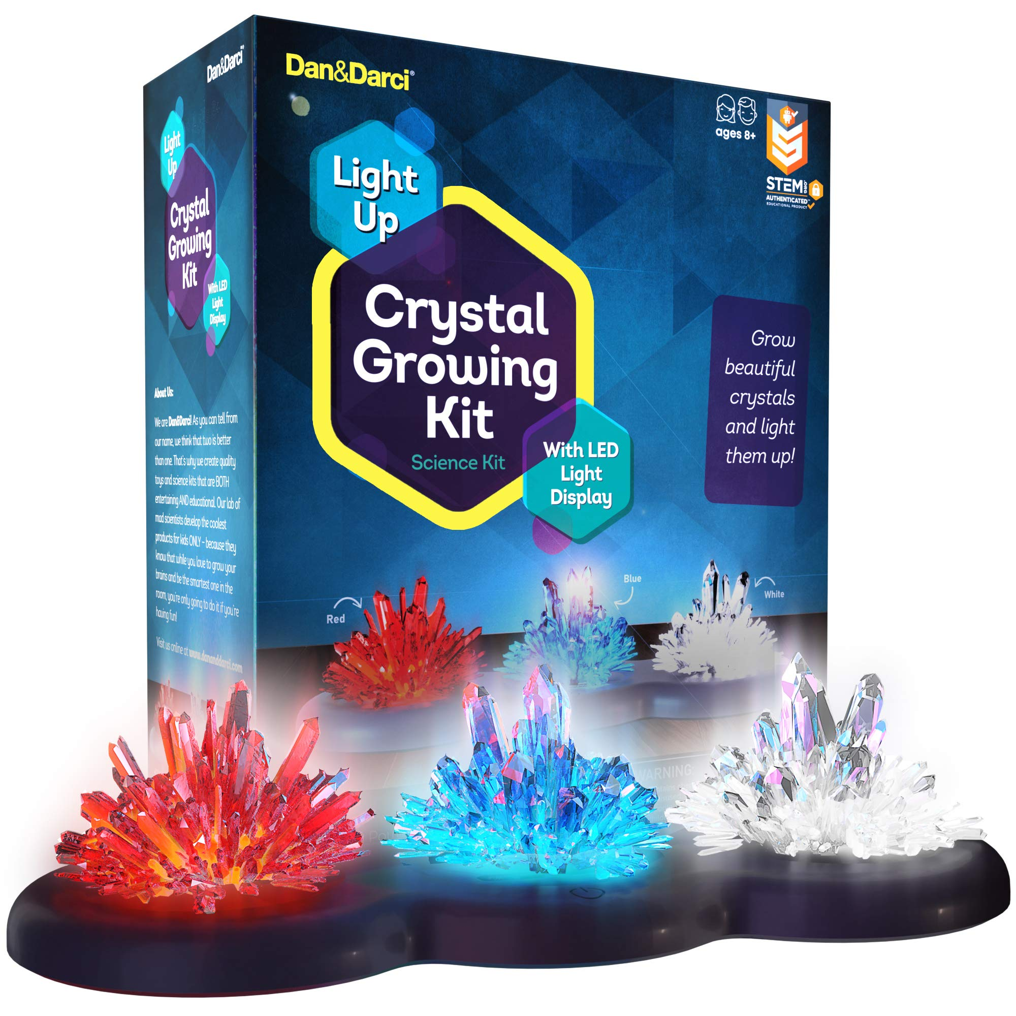Mini Explorer Light up Crystal Growing