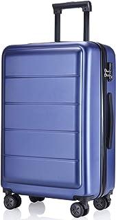 レーズ(Reezu) スーツケース 機内持込 キャリーケース 超軽量 キャリーバッグ ファスナー式 ジッパー 耐衝撃 人気 静音ダブルキャスター TSAローク搭載 旅行出張 ビジネス 傷が目たちにくい 1年保証