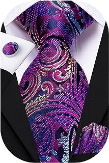 ست گردنبند ابریشمی Hi-Tie و دستبند Pocket Square