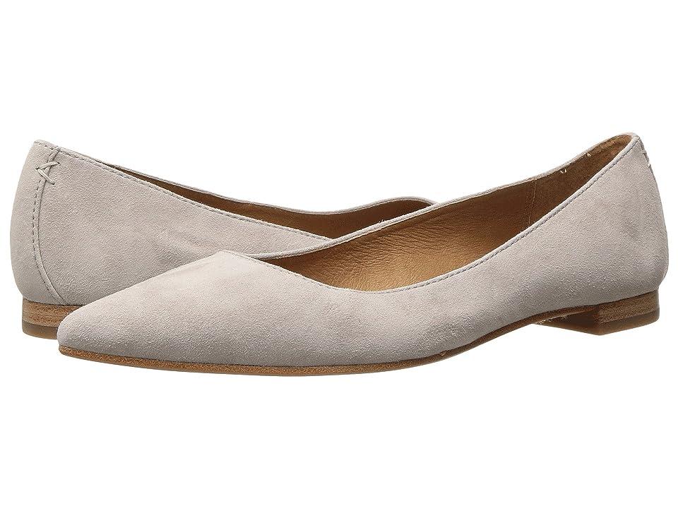 Frye Sienna Ballet (Cement Suede) Women
