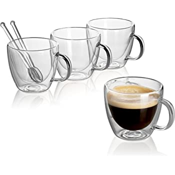 New! Perfect quality miniature coffee cups set and get free