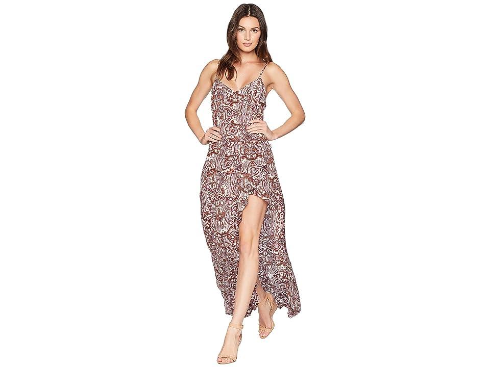 For Love and Lemons Romy Tank Dress (Lilac Paisley) Women