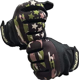 Clutch Sports Apparel Baseball and Softball Batting Gloves (Camo Flag, Adult X-Large)