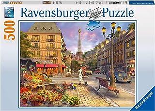 Ravensburger 146833 A Walk Through Paris Puzzle 500pc,Adult Puzzles