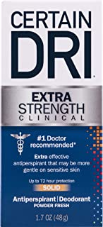 Certain Dri Extra Strength Clinical Antiperspirant Deodorant | Extra Effective Protection..