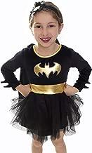 DC Comics Batgirl Baby Girls Costume Dress - Superhero Costumes for Toddler Girls