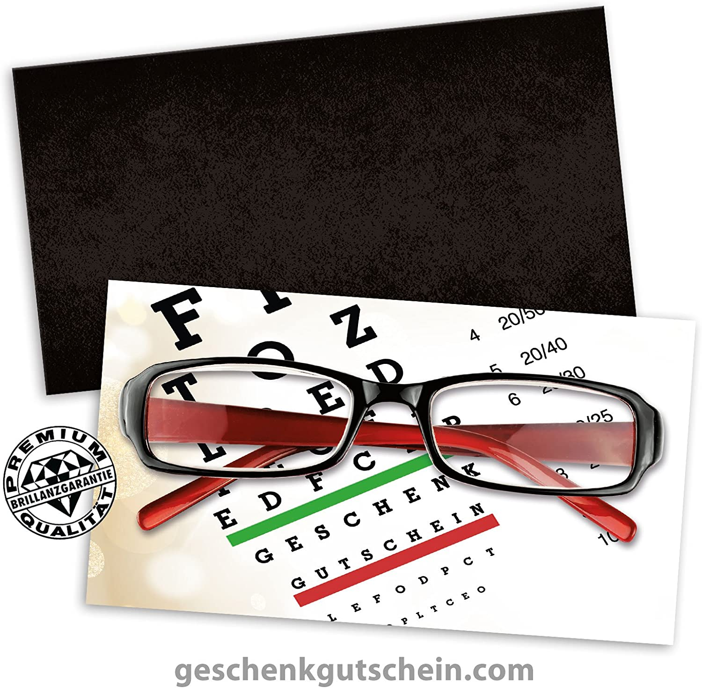 25 Stk. Premium Geschenkgutscheine Gutscheine zum Falten MultiFarbe   25 Stk. KuGrüns für Optiker, Brillenhändler, Brillenfachgeschäft OP223, LIEFERZEIT 2 bis 4 Werktage  B06XZNJK4P   | Modern Und Elegant In Der Mode