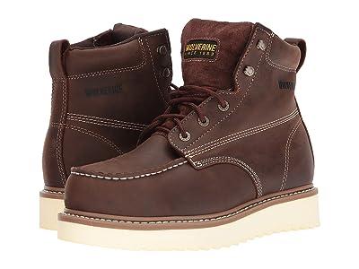 Wolverine Loader 6 Steel Toe Boot (Brown) Men