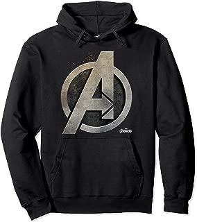 Avengers Infinity War Steel Symbol Graphic Hoodie