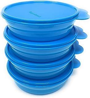 Tupperware Impressions Cereal Bowl SET New Sheer Aqua