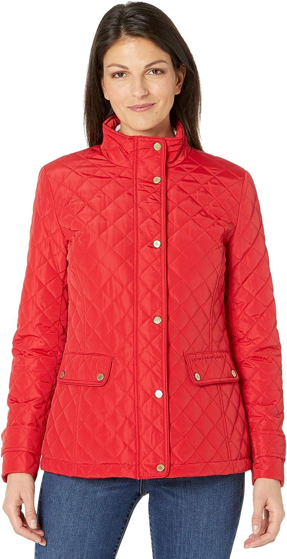 LAUREN Ralph Lauren Stand Collar Quilted Jacket