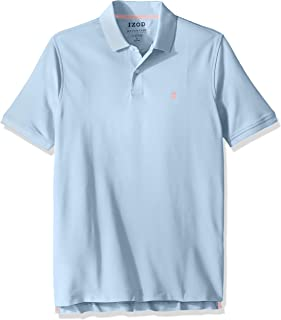 40b47306 IZOD Men's Advantage Performance Short Sleeve Solid Heather Polo