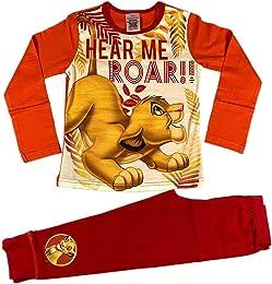Pyjama Disney Le Roi Lion Fille Pyjama Pjs  Taill